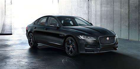 all black jaguar uk only affair jaguar launches black edition models