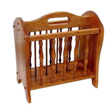 floor magazine rack amish crafted furniture