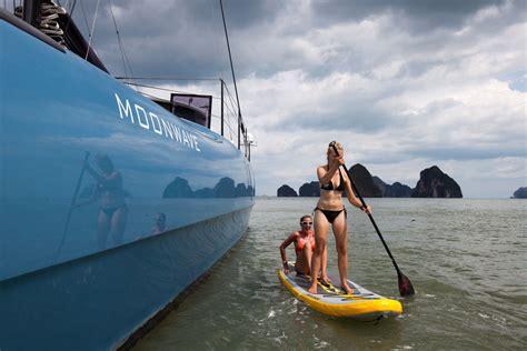 annapolis boat show moorings moonwave gunboat 60 catamaran