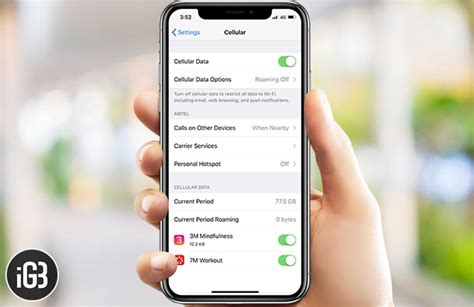 cellular data not working on iphone running ios 11 how to fix