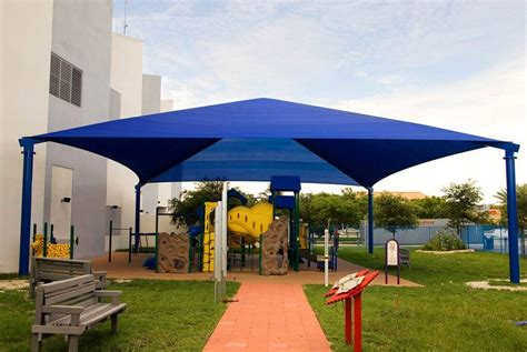 sail awnings canopies playground and park canopies shadefla blog