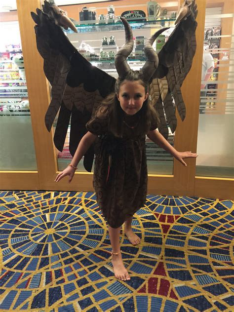 maleficent girls costume  halloween