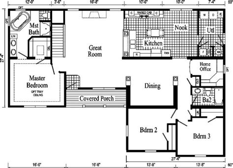 elegant 1950s ranch house floor plans new home plans design ranch style house plans from the 1950 s archives new