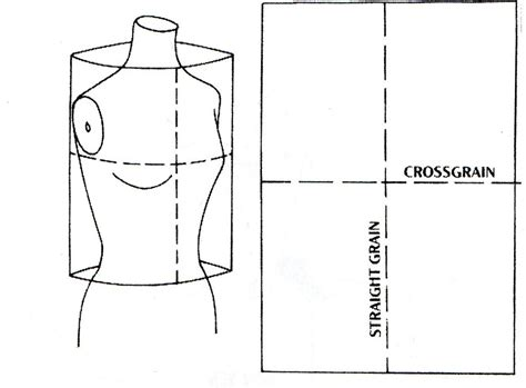 pattern drafting adding darts basic bodice block peggy s pickles