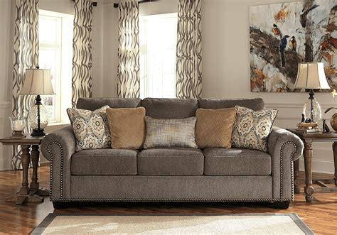 emelen sofa and loveseat emelen alloy sofa set lexington overstock warehouse