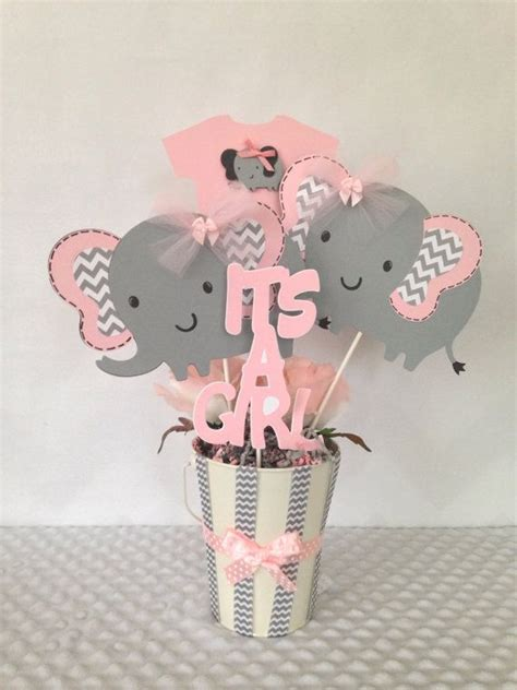 elephant centerpieces pinterest te hakkında 25 den fazla