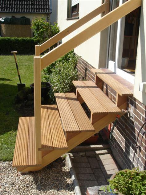 treppengeländer für aussentreppe holztreppe design au 223 en