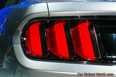 2015 mustang lights 2015 mustang convertible prototype lights