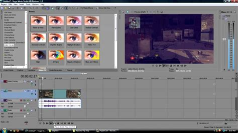 sony vegas pro coloring tutorial sony vegas pro sony vegas movie studio color curve