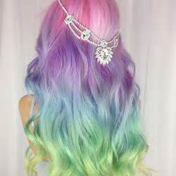 mermaid colored hair mermaid hair coloring 7 trends of 2016