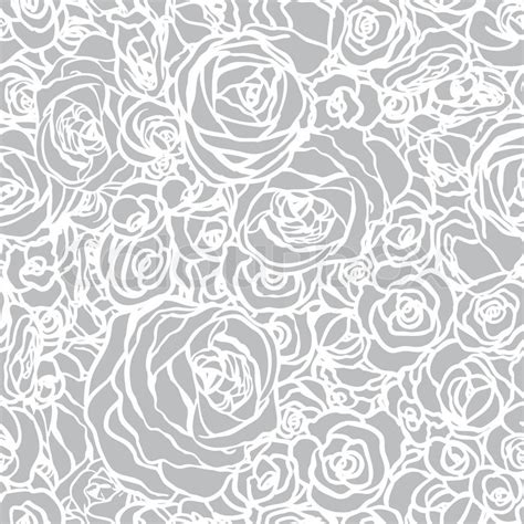 floral pattern vector illustrator seamless pattern with flowers roses vector floral