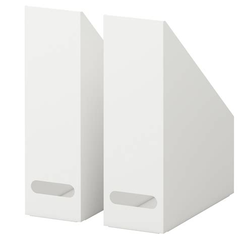 cd aufbewahrung wand kvissle magazine file set of 2 white ikea