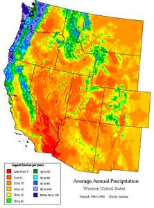 rainfall and rainfall changes in the usa