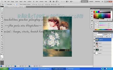 membuat poster fanfiction tutorial photoshop cara membuat cover poster