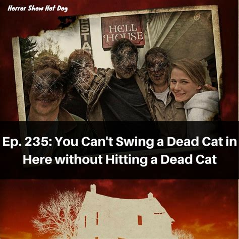 swinging a dead cat ep 235 you can t swing a dead cat in here without