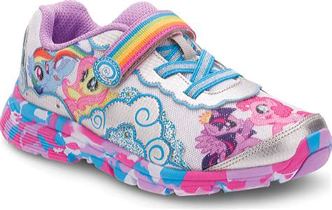 my little pony light up shoes girls stride rite my little pony equestria light up