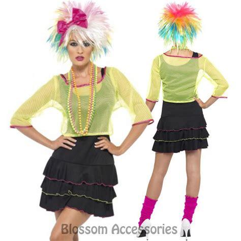80s pop tart costume cl224 pop tart 80 s madonna cyndi lauper rock retro neon