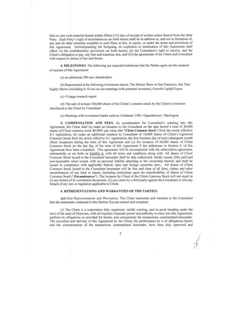 section 102 agreement contract by cryptosign inc