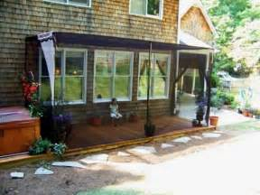 deck awnings with mosquito netting privacy screen ideas for your outdoor area