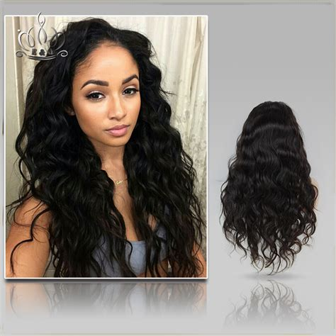 brazilian virgin human hair wigs for black women deep wave lace 7a grade brazilian virgin hair water wave full lace human