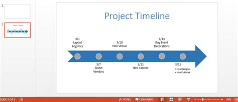 Project Timeline In Powerpoint Free Powerpoint Timeline Project Timeline In Powerpoint