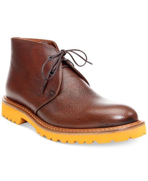 donald j pliner brady chukka boots in black for lyst
