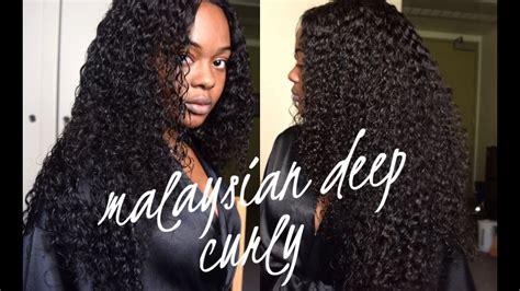 malaysian traditional hair styles bele virgin hair malaysian deep curly aliexpress youtube