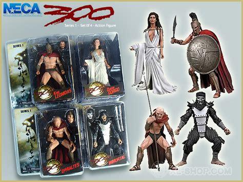 300 Neca 7inc Figure neca 300 series 1 set of 4 7 figure