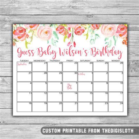 calendar template for baby shower best 25 due date calendar ideas on pinterest baby due