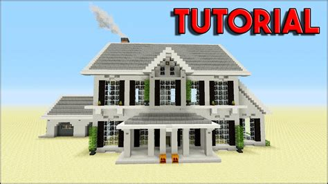 Minecraft Tutorial How To Build A Suburban House Top House 2016 Youtube