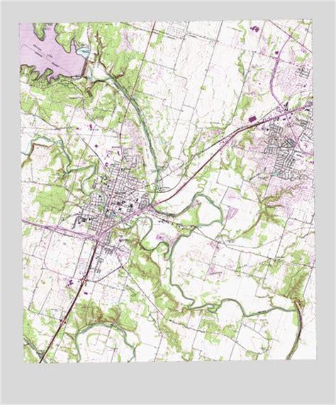 belton texas map belton tx topographic map topoquest
