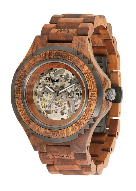 marsh automatic wewood watches