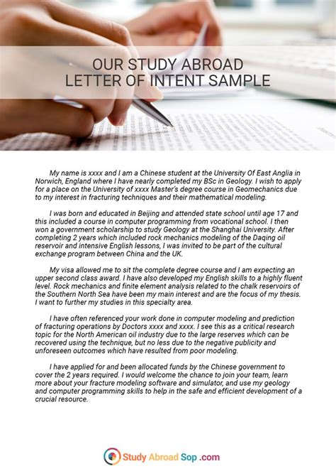 study abroad cover letter this sle of a completed real wanted posters free