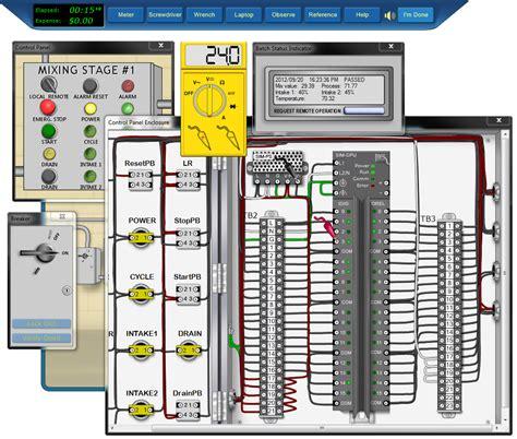 Plc Electrician by Plc Simulator Industrial Controls 2