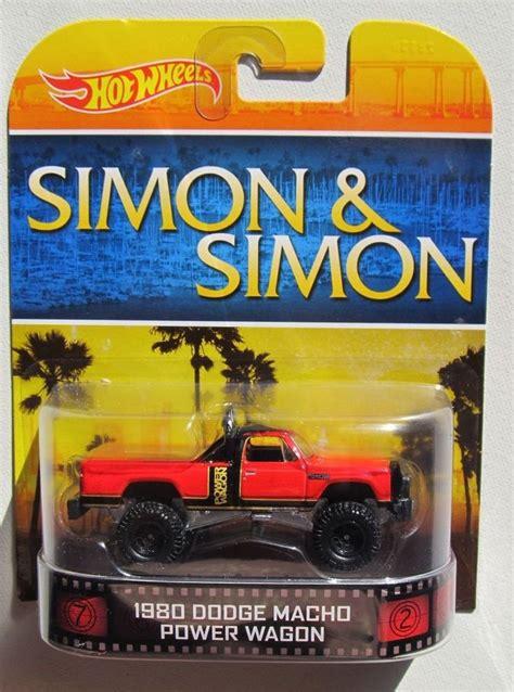 hot wheels  retro tv shows simon simon  dodge