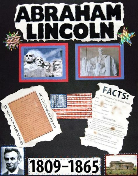 biographical history of abraham lincoln 10 best school project ideas images on pinterest poster