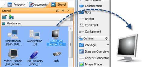 computer visio stencils how to import microsoft visio stencils visual paradigm