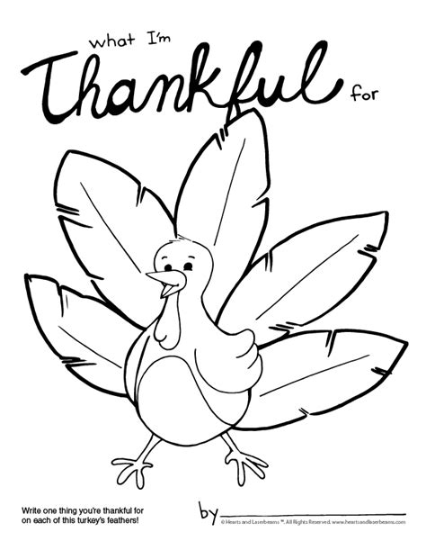 thankful turkey coloring page free turkey coloring pages for thanksgiving