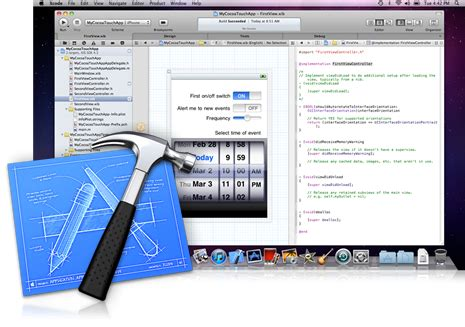 xcode osx layout xcode 4 now available for registered developers 4 99 for