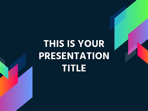 Free Modern And Colorful Powerpoint Template Or Google Slides Theme Slides Templates
