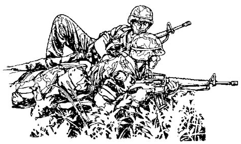 army coloring pages picgifs com