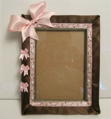 How To Make Handmade Photo Frames For - handmade picture frame 5 x 7 with free signature by