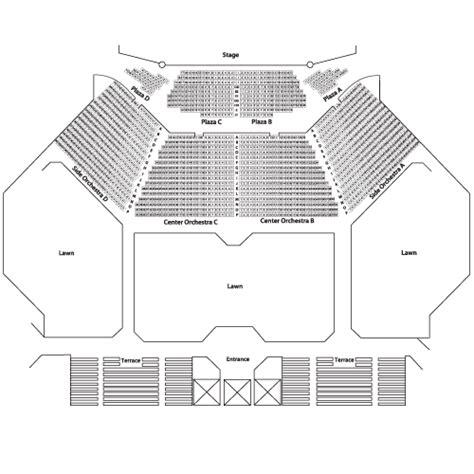 fraze pavilion seating chart steve martin july 28 tickets dayton fraze pavilion steve