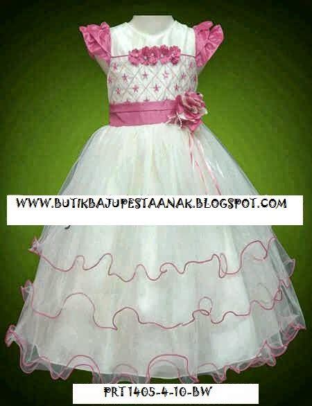 gaun pesta mewah 4 6 8 10 tahun butik baju pesta anak gaun pesta anak branded