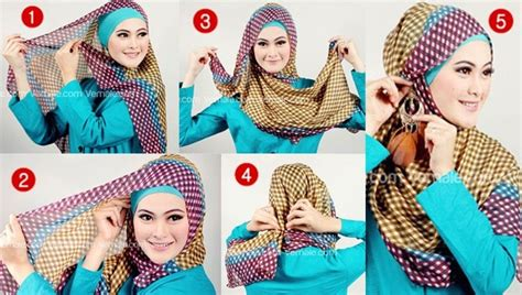 tutorial hijab segi empat video model hijab terbaru dan tutorialnya hijab trend