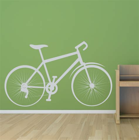 Wall Sticker Bicycle bicycle sports and hobbies bike wall sticker wall decal transfers ebay