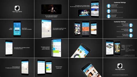 app presentation video template 78 after effects product