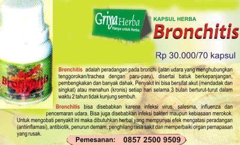Kapsul Herbal Bronchitis kapsul herbal bronchitis sehatherba