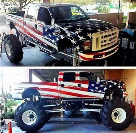 ford mega truck patriotic ford mega mud truck my style pinterest