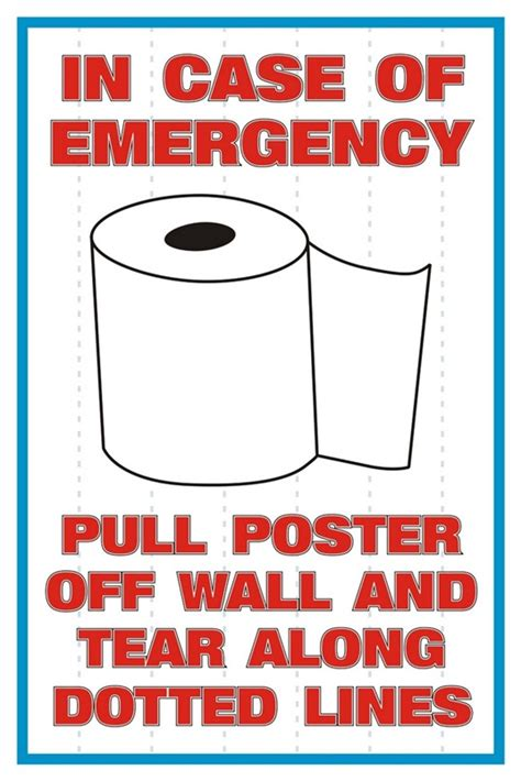 poster bathroom funny posters for the decor of offices educational